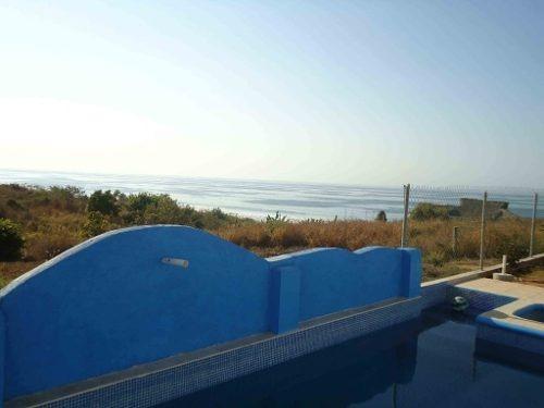 casa en venta en playa agua blanca, puerto escondido, oaxaca