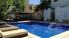 casa en venta en playa del carmen/riviera maya/real ibiza