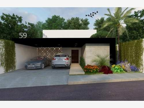 casa en venta en privada chaactun