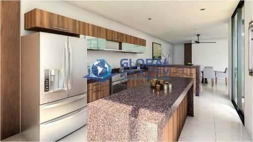 casa en venta en privada, cholul al norte de mérida cv-4655