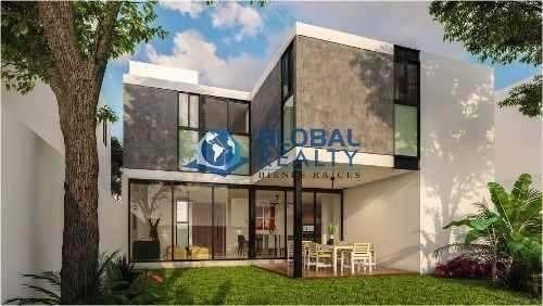 casa en venta en privada, cholul al norte de mérida. cv-4656
