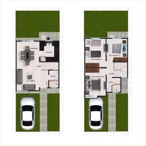 casa en venta en privada con alberca en valle alto