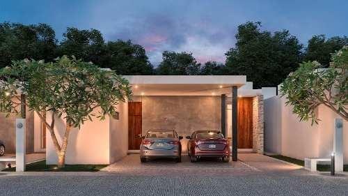 casa en venta en privada, conkal zona de plusvalía. cv-6132