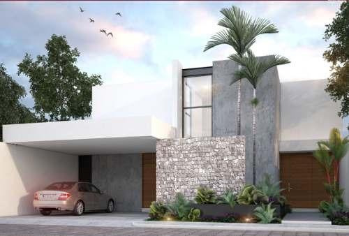 casa en venta en privada en temozón norte