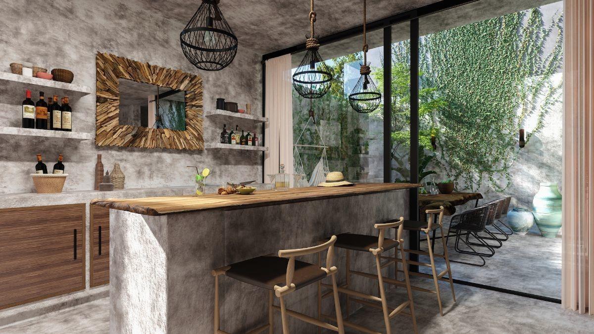 casa en venta en privada mar y miel, aldea zamá, tulum