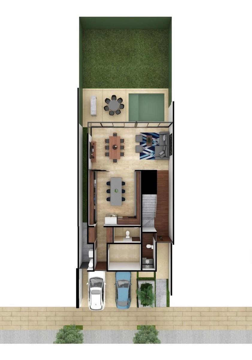 casa en venta, en privada navita mod. a1