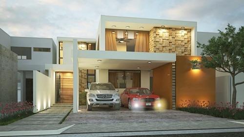 casa en venta en privada parque natura mérida cv-6335