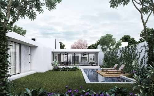 casa en venta en privada residencial en cholul, mérida, yucatán
