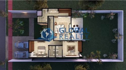 casa en venta en privada residencial en zona cholul. cv-5046