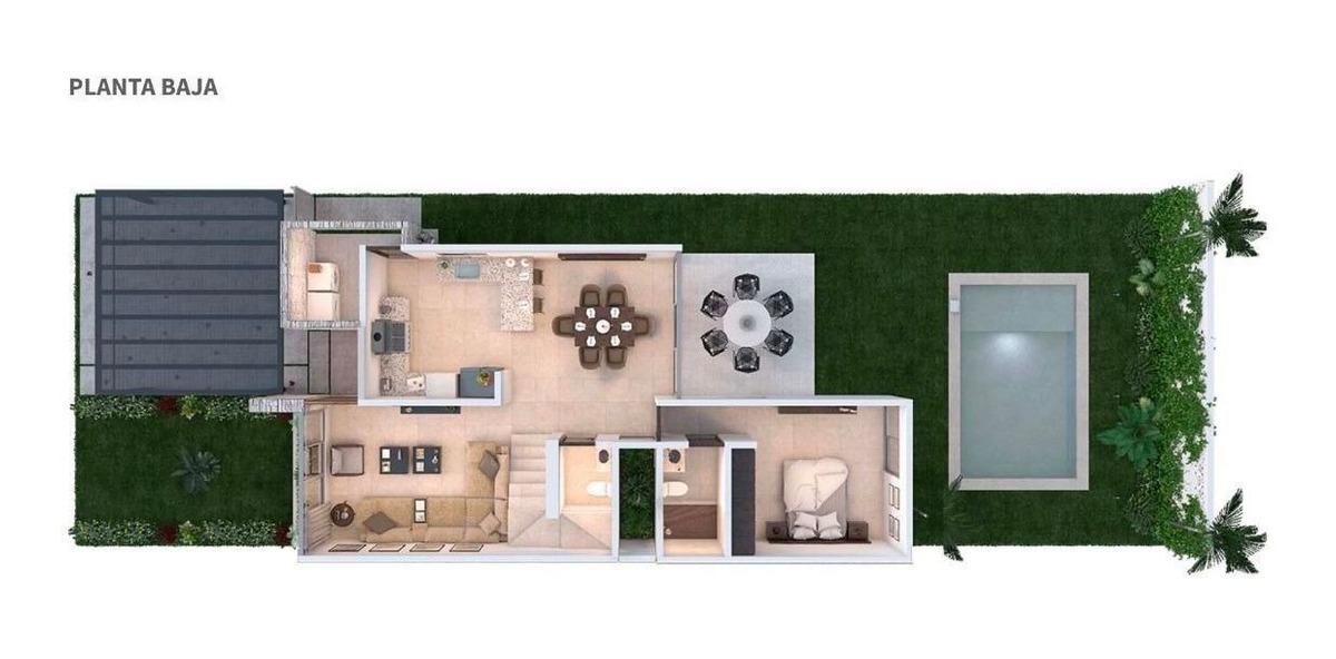casa en venta en privada siara en dzitya mod. adonia