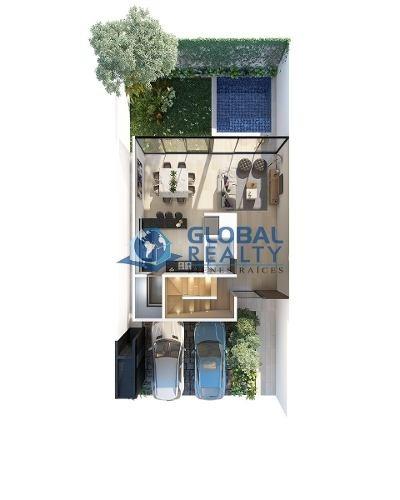 casa en venta en privada, temozon. zona cabo norte cv-5073