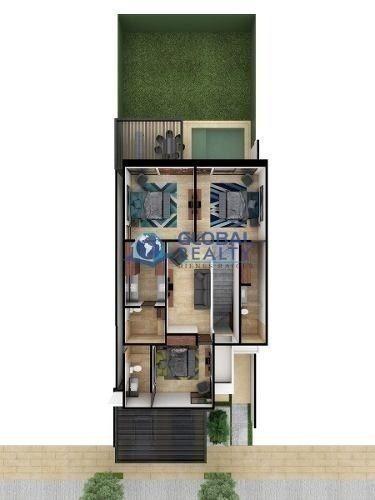casa en venta en privada, zona norte de mérida. cv-4610