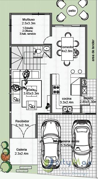 casa en venta en proyecto cerrado autopista san isidro