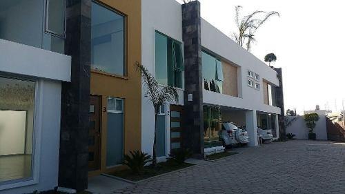 casa en venta en residencial ambar en san andrés cholula