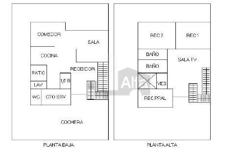 casa en venta en residencial las plazas