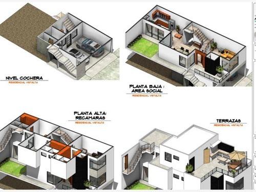 casa en venta en residencial vistalta