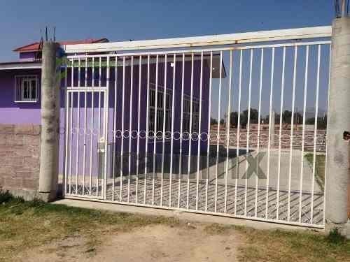 casa en venta en san andres chiautla, texcoco, ubicada en la calle gloria en la colonia ejido de san juan, sus dimensiones son de 180 m² de construcción y 485 m² de terreno, cuenta con sala, comedor,