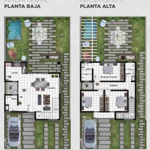casa en venta en san miguel de allende. residencial campestre xotol. casa x4