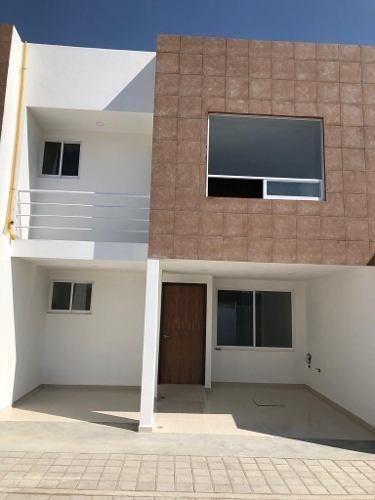 casa en venta en san pedro cholula, en fraccionamiento
