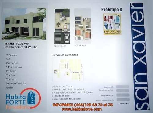 casa en venta en san xavier