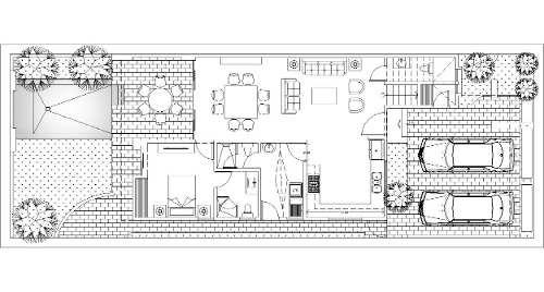 casa en venta en santa gertrudis copo, privada amara cv-6115