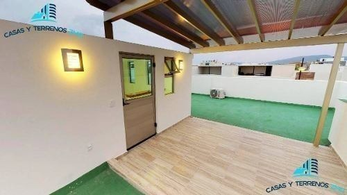 casa en venta en solares soaré coto zanthe con roof garden, madera de cedro