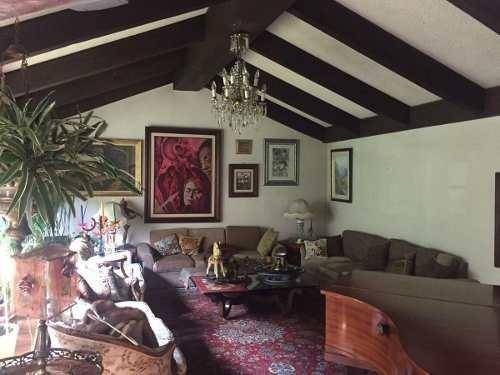 casa en venta en tecamachalco de 4 recamaras y jardín, naucalpan edo. méxico.