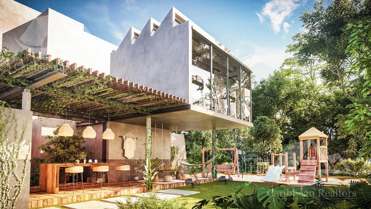 casa en venta en tulum/riviera maya/aldea zama/mar y miel