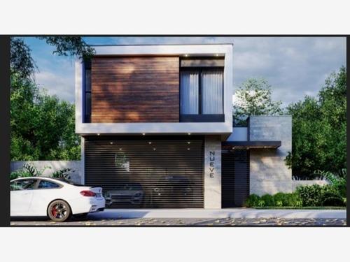 casa en venta en valle de cristal carretera nacional monterrey, n.l.
