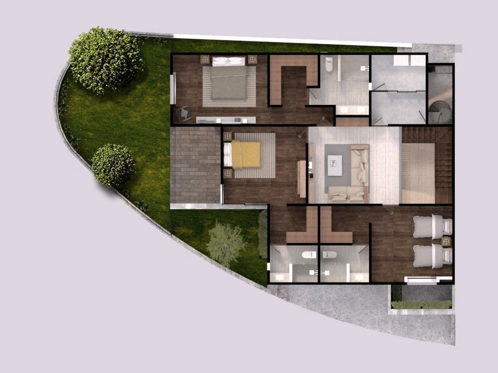 casa en venta en villandares, en esquina, 3 o 4 recamaras, jardín con riego