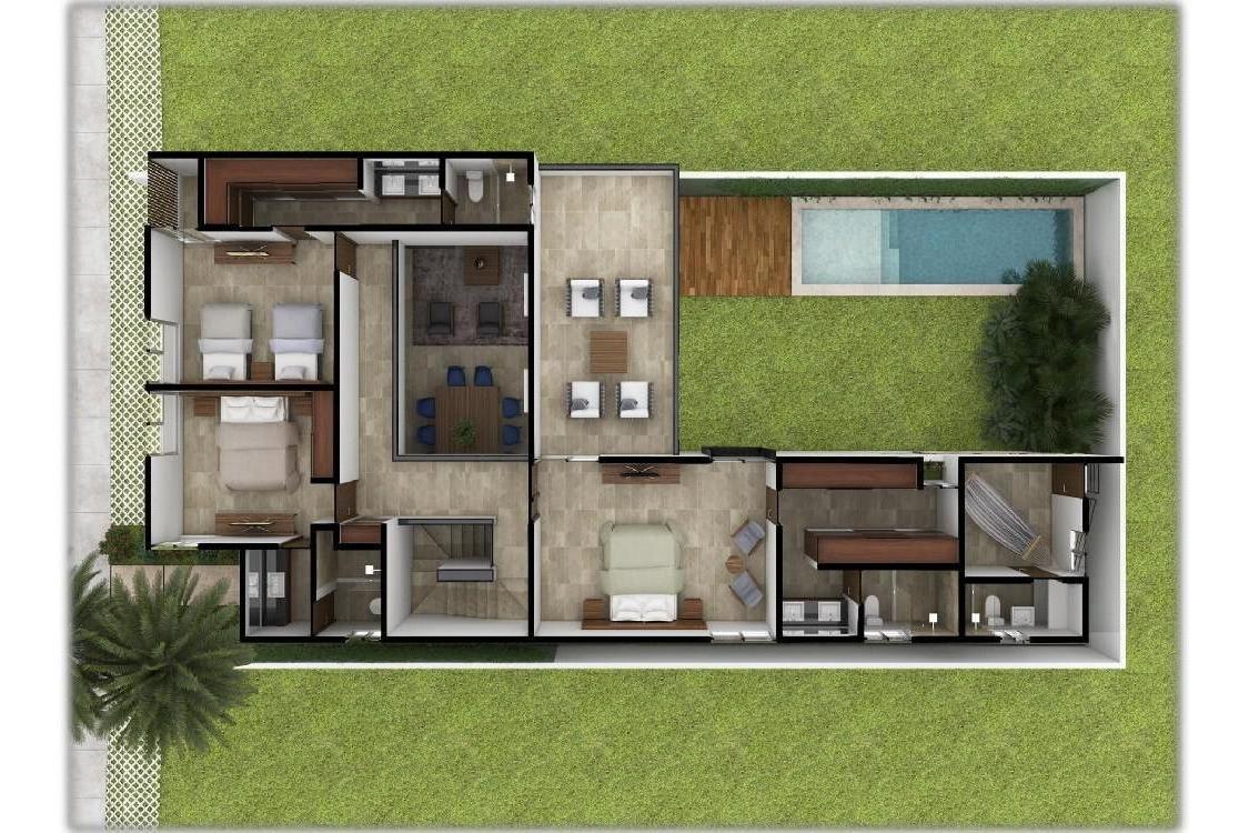 casa en venta en xcanatún privada el origen alado temozón,mérida