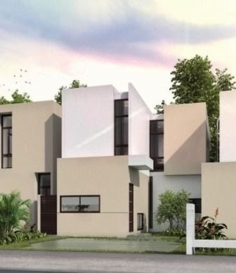 casa en venta en zensia conkal mod. c