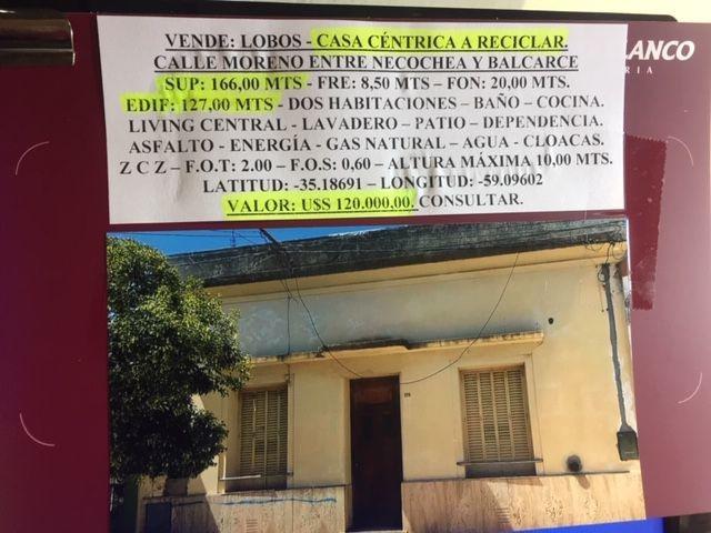 casa en venta en zona céntrica