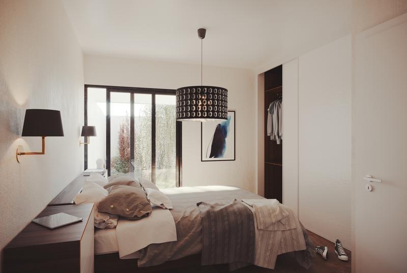 casa en venta funes town dos dormitorios - scalabrini ortiz 815