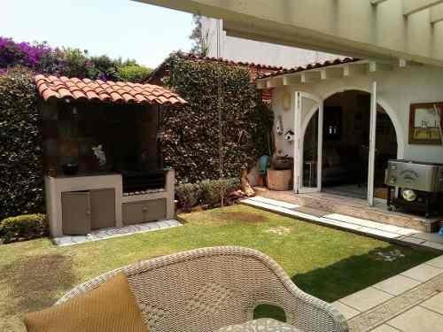 casa en venta, la barranca / jardines del pedregal de san ángel