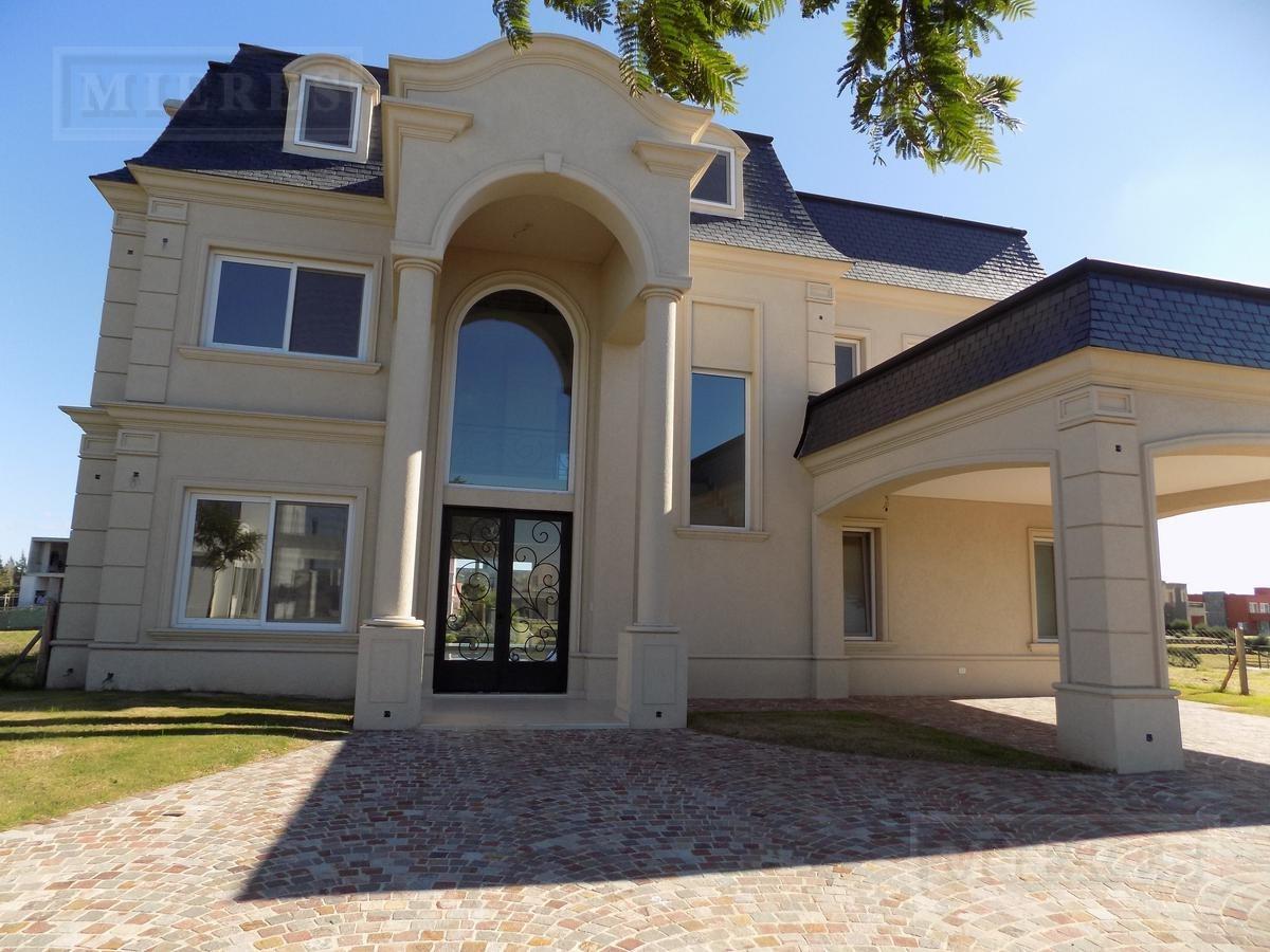 casa en venta - lagos del golf nordelta - a la laguna