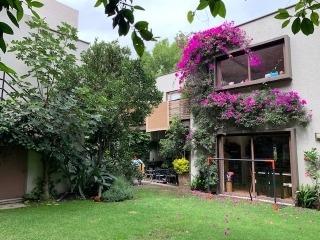 casa en venta lomas de chapultepec con jardin