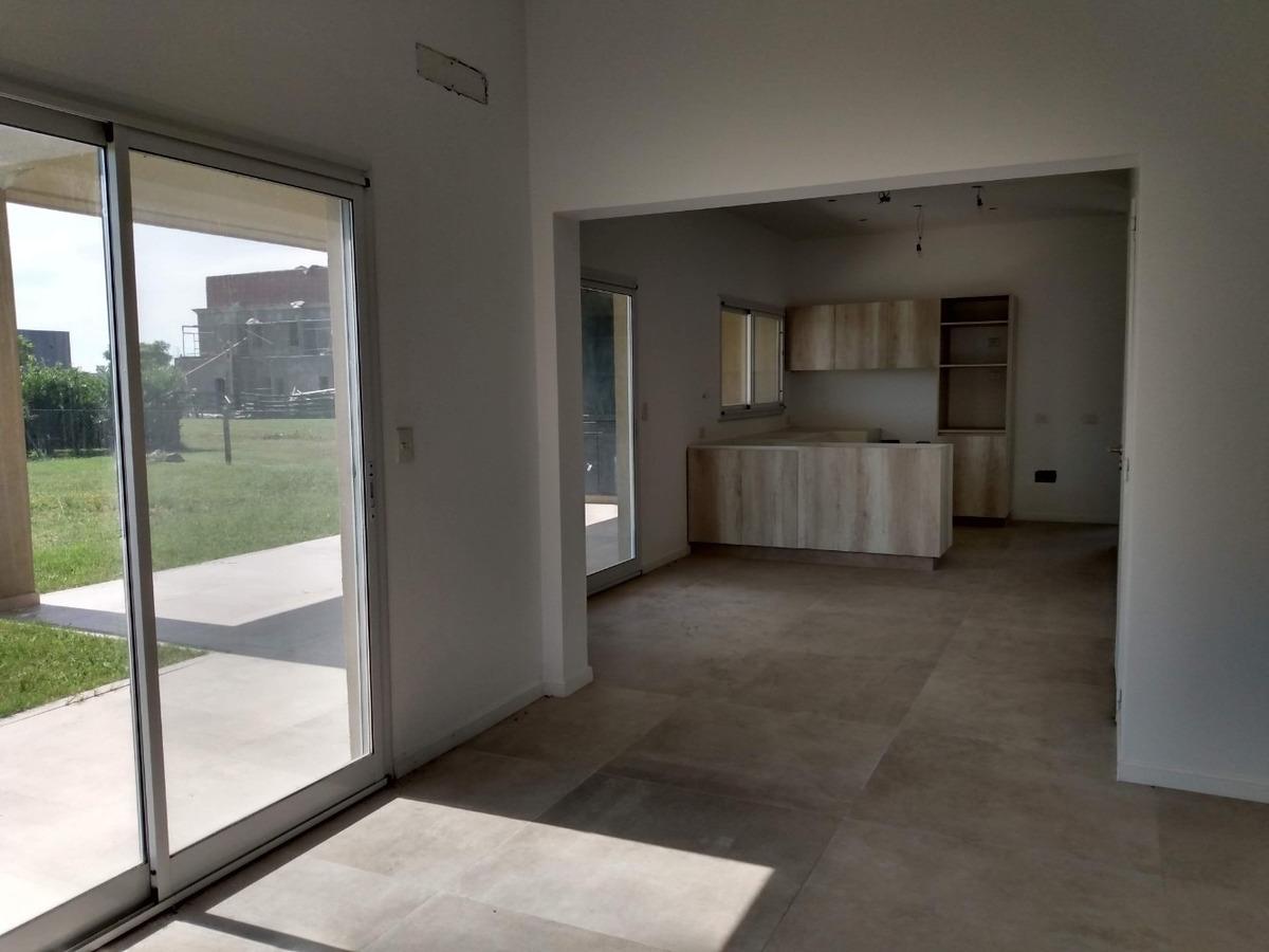 casa en venta lote interno en vistas puertos del lago escoba
