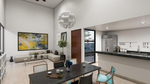 casa en venta, merida, conkal ¡de un piso! mod 159