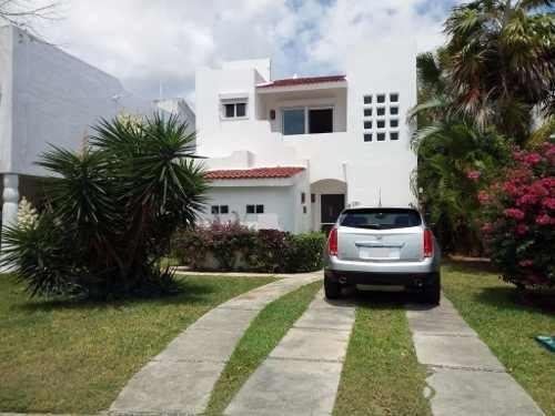 casa en venta palma real playacar p1915