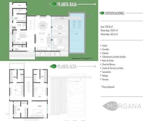 casa en venta playa del carmen q.r. morgana-ginebra 1
