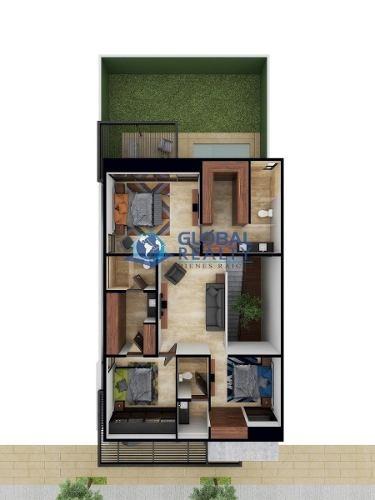 casa en venta, privada, a minutos de plaza la isla. cv-4538