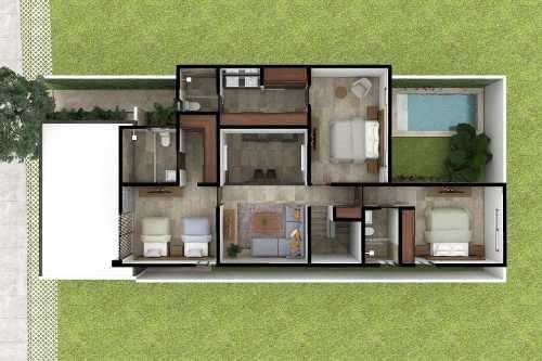 casa en venta, privada al norte de mérida cv-6191