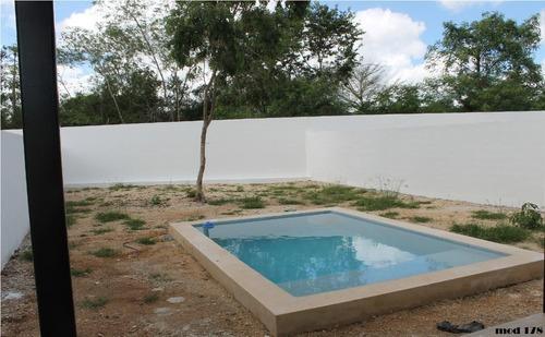 casa en venta privada aleza, conkal (mod. 178)