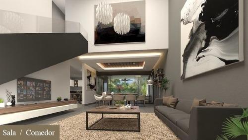 casa en venta privada chaactun, mod. alzano