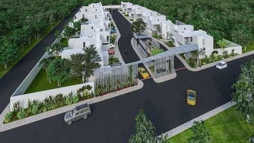 casa en venta, privada en conkal, alto crecimiento. cv-5796