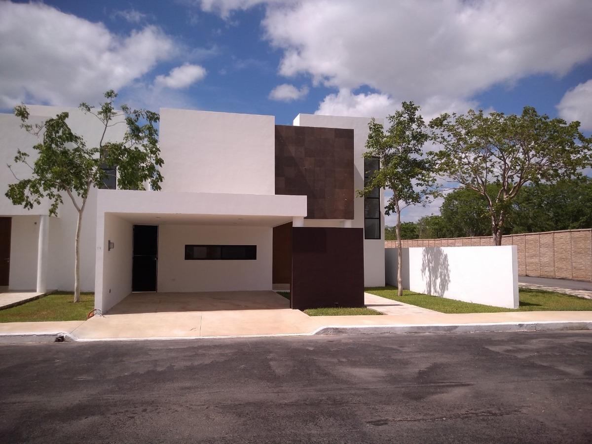 casa en venta, privada en conkal, zona mérida cv-5701