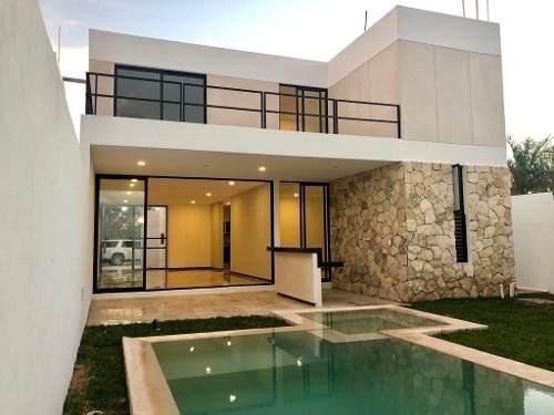 casa en venta, privada en temozón, zona city center. cv-4221