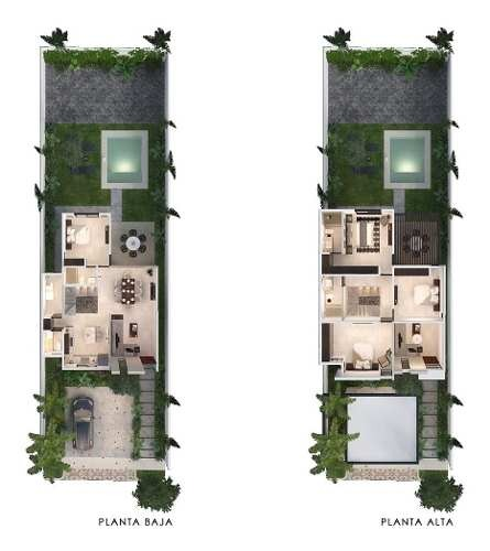 casa en venta, privada en zona de alta plusvalía. cv-5642