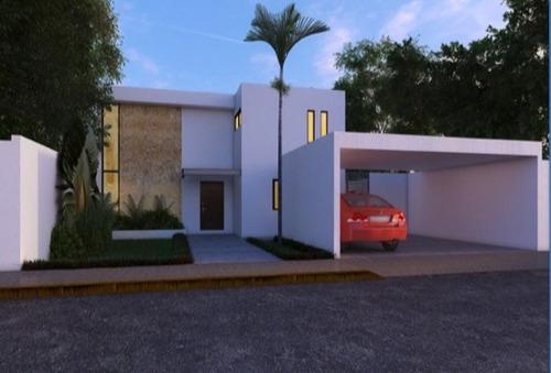 casa en venta privada guayacan ubicada en conkal!!!!